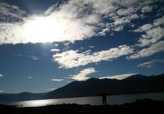 Lago Caburgua, Pucon, Chile Fotografía de archivo libre de regalías