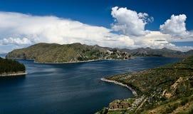 Lago Caca del Titi Imagen de archivo
