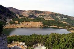 Lago Calcescu Imagen de archivo