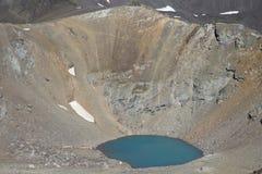 Lago caldera Foto de archivo libre de regalías