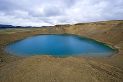 Lago Caldera imagem de stock