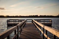 Lago Calhoun Minneapolis Fotografia Stock