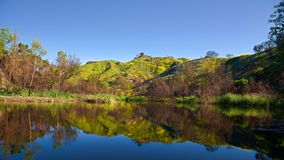 Lago Califórnia century imagem de stock