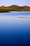 Lago calmo 1 Foto de Stock Royalty Free