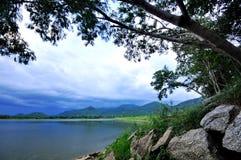 Lago calmo Imagem de Stock