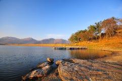 Lago calmo Fotografia de Stock Royalty Free