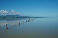 Lago calmo. imagens de stock royalty free