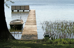 Lago calmo Imagem de Stock Royalty Free