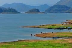Lago calmo Fotos de Stock Royalty Free