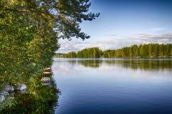 Lago calmo Fotografia Stock Libera da Diritti