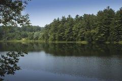 Lago calmo Vermont Foto de Stock Royalty Free
