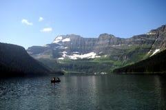 Lago Canada cameron fotografia stock