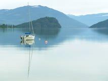 Lago canada della Columbia Britannica Fotografie Stock