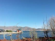 Lago Cangshan MI Hai Yunnan Inland fotografia stock libera da diritti