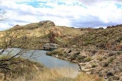 Lago canyon, stato dell'Arizona, Stati Uniti Immagini Stock Libere da Diritti