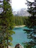 Lago Carezza Foto de Stock