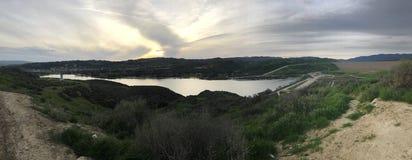 Lago Castaic Fotografia Stock Libera da Diritti