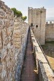 lago castiglione del крепости Стоковое фото RF