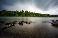 Lago Castlewellan Fotografia Stock Libera da Diritti