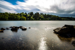 Lago Castlewellan Fotografia Stock