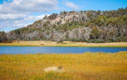 Lago Catani - búfalo del Mt Fotos de archivo libres de regalías