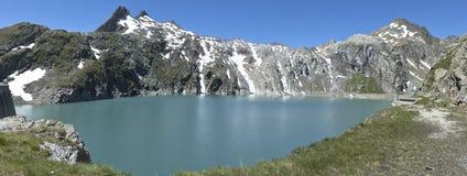 Lago Cavagnolo, Svizzera Immagine Stock