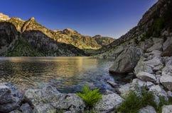 Lago Cavallers Fotografering för Bildbyråer