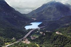 Lago Cavazzo, Udin (Friuli) Fotos de archivo libres de regalías