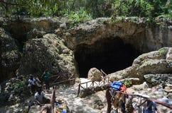 Lago cave Fotografia Stock