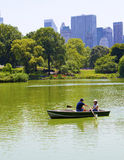 Lago central Park Imagen de archivo
