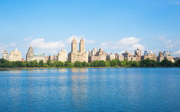 Lago central Park Imagem de Stock Royalty Free
