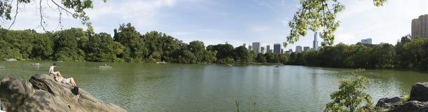 Lago central Park Imagen de archivo libre de regalías