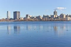 Lago central Park immagini stock libere da diritti