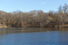 Lago central Park fotografie stock