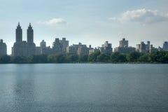 Lago central Park Il Central Park è il parco urbano visitato in U.S.A. Fotografia Stock