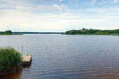 Lago cerca de Boszkowo Imagen de archivo