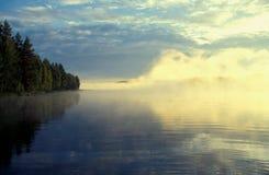 Lago cerca de Kuopio Fotografía de archivo libre de regalías
