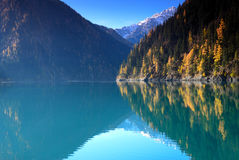 Lago Changhai Fotografia Stock