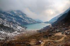Lago Changu Imágenes de archivo libres de regalías