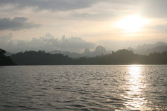 Lago Chao Lan foto de stock