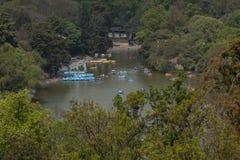 Lago Chapultepec Fotografie Stock