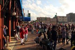 Lago Charles Mardi Gras Fotografia Stock