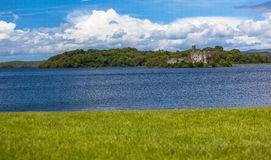 Lago chave Shannon castle do Lough Foto de Stock Royalty Free