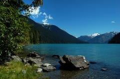 Lago Cheakamus Fotos de archivo
