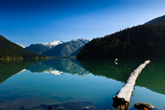 Lago Cheakamus imagen de archivo