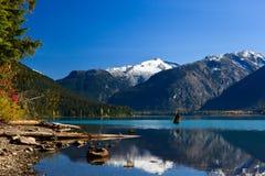 Lago Cheakamus imagenes de archivo