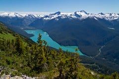 Lago Cheakamus Fotografia Stock