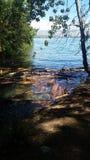 Lago Chelan Fotos de archivo