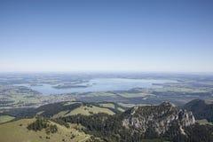 Lago Chiemsee Fotografía de archivo libre de regalías