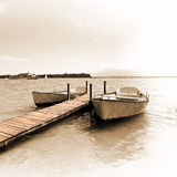 Lago Chiemsee Foto de Stock Royalty Free
